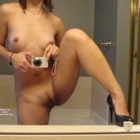 Pussy Self Shot - Brown Hair, Heels, Landing Strip, Long Hair, Self Shot, Spread Legs, Hairless Pussy, Naked Girl, Nude Amateur , Very Small Nipples, Nude Self Pic In Mirror, Mirror Shot, Sexy Shoes, Standing Spread Legs, Shoulder Length Brown Hair, Thin Long Landing Strip, Dark Landing Strip Shave, Medium Natural Breasts